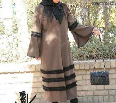 مدل مانتو بلند ترکی
