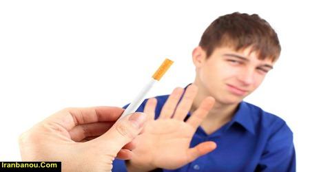 برخورد با سیگار کشیدن نوجوان