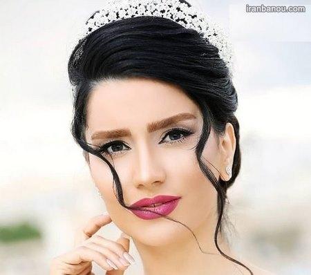 مدل عروس ایرانی قبل و بعد ارایش