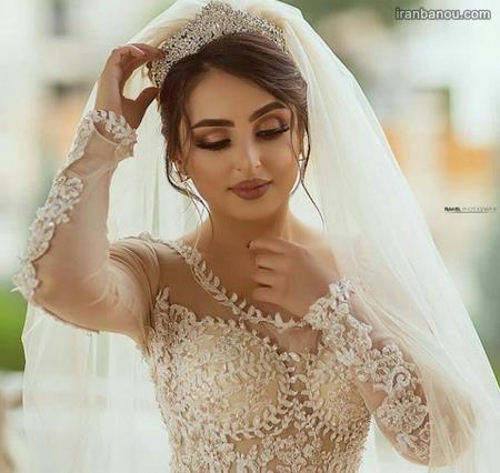 گریم عروس شیک و ساده