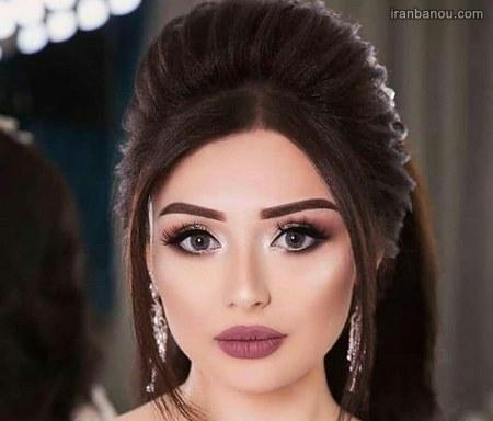 مدل آرایش عروس افغانی