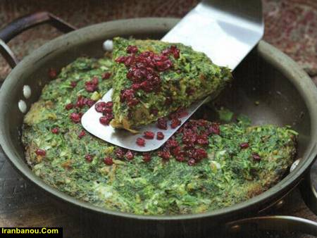 طرز تهیه کوکو سبزی شمالی