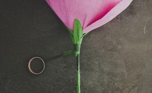 اموزش ساخت گل پارچه ای و کاغذی