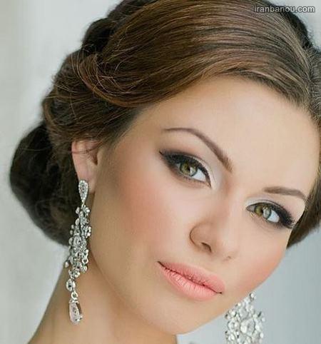 آرایش عروس ایرانی به سبک اروپایی