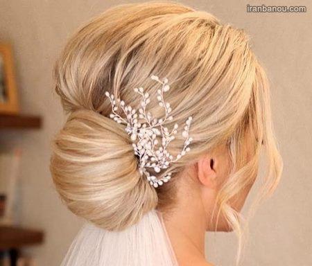 شینیون عروس زیبا