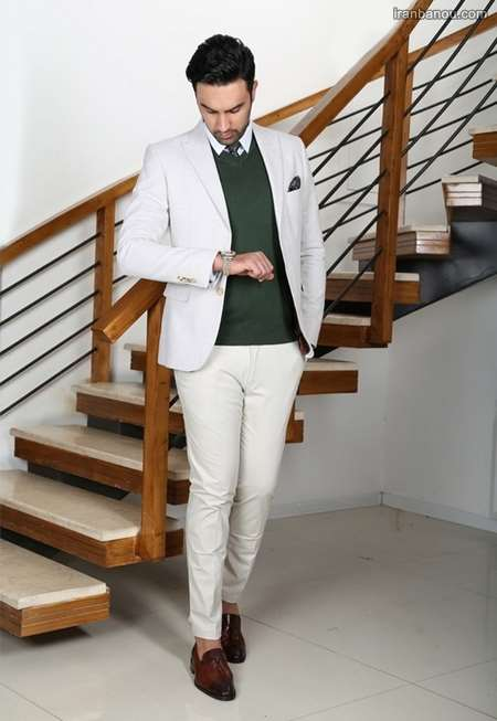 رنگ کت و شلوار مردانه