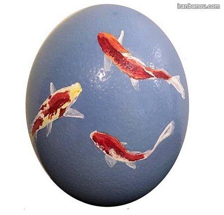 تخم مرغ شیک هفت سین