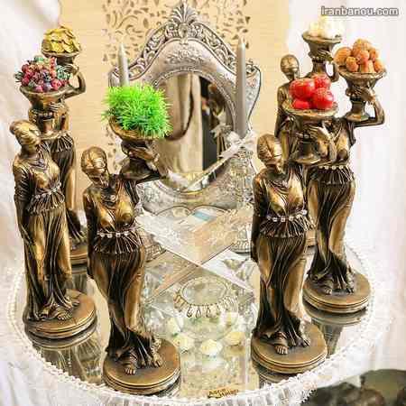 هفت سین زیبا برای عروس و داماد