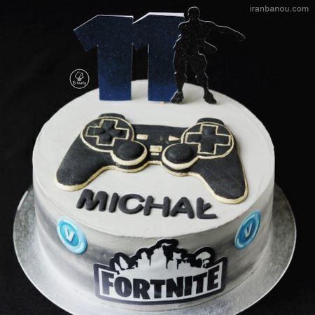 کیک فوتبالی پرسپولیس