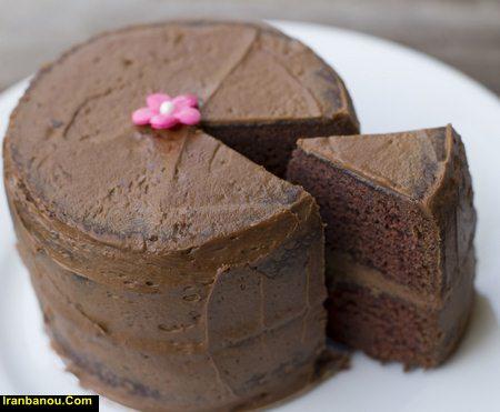 کیک موکا ساده