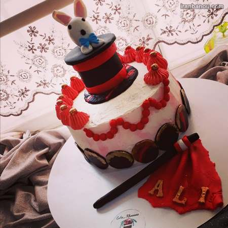 کیک تولد پسرانه جدید