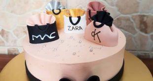 مدل کیک تولد مستطیلی