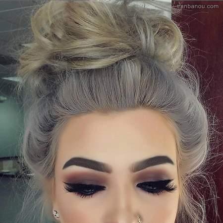 آرایش صورت عروس