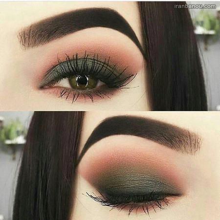 آرایش چشم درشت