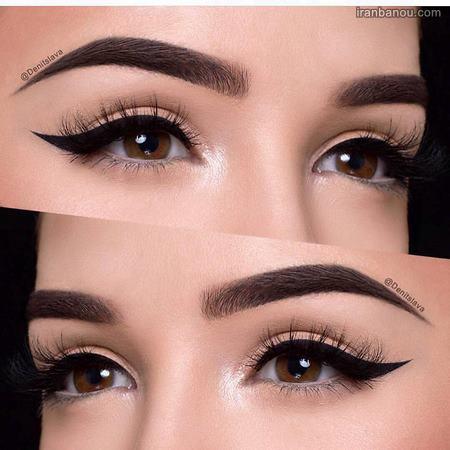 آرایش اروپایی چشم