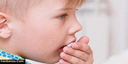 درمان سرفه کودکان در طب سنتی