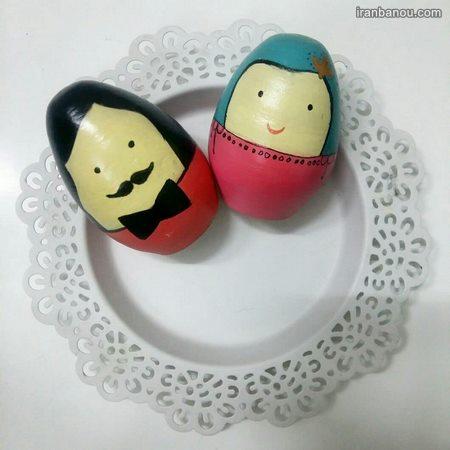 مدل جدید تخم مرغ رنگی