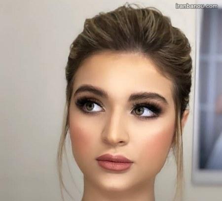 مدل آرایش صورت ساده