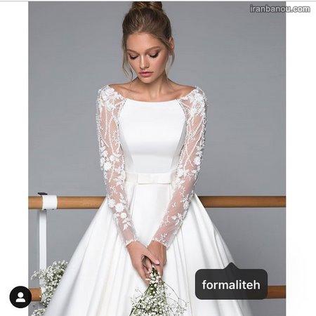لباس عروس فرمالیته کوتاه