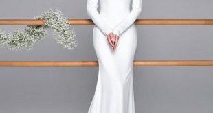 لباس فرمالیته ساده بلند