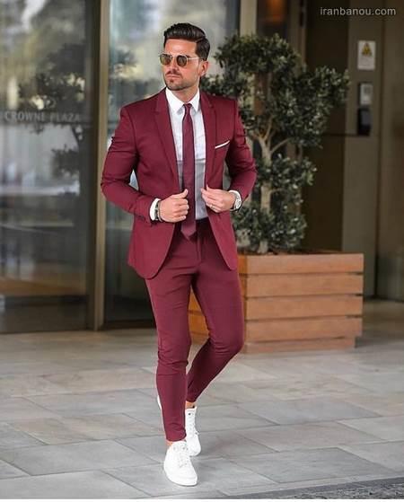 رنگ کت و شلوار مردانه شیک