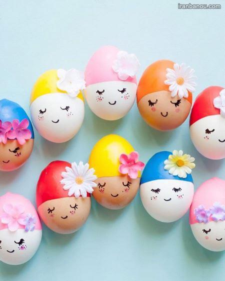 مدل جدید تزیین تخم مرغ هفت سین