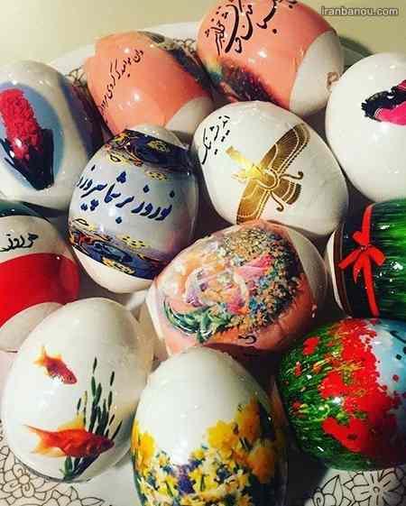ایده رنگ آمیزی تخم مرغ رنگی
