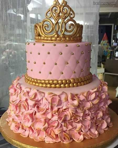 عکس کیک تولد دخترانه نوجوان