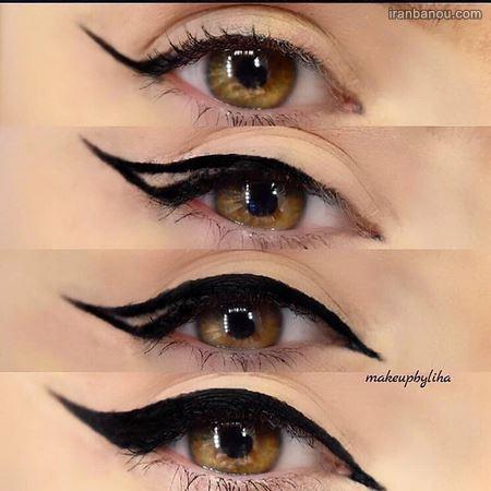 بهترین آرایش چشم بادامی و گرد به صورت ساده و اسموتی