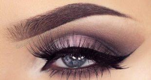 مدل سايه چشم عربي