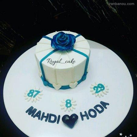 ایده کیک سالگرد ازدواج