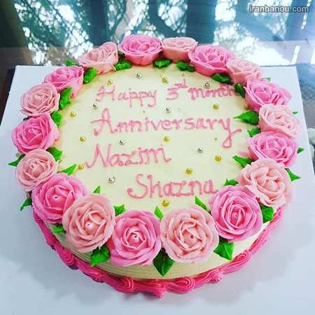 کیک سالگرد ازدواج جدید