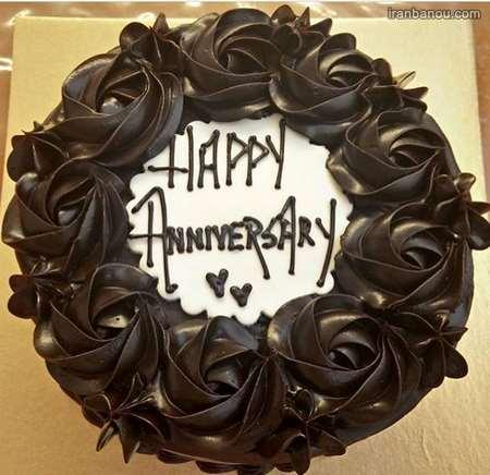 نوشته روی کیک سالگرد ازدواج