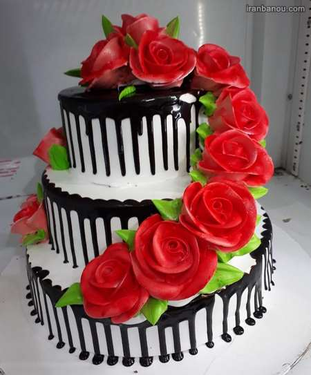 سفارش کیک سالگرد ازدواج