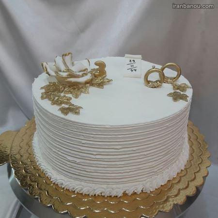 عکس کیک سالگرد ازدواج مدل جدید