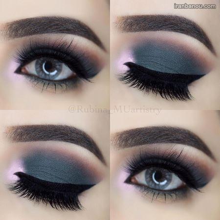 آرایش چشم عروس ایرانی