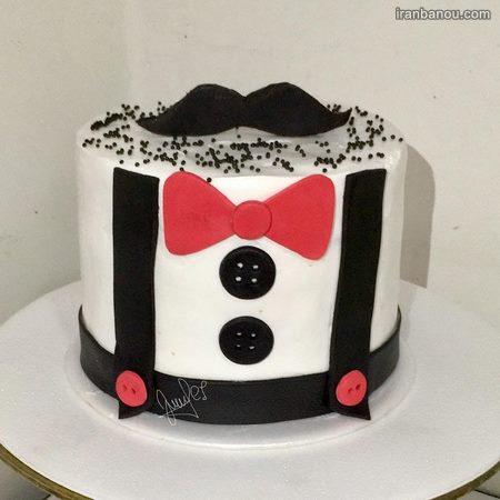 کیک روز پسر