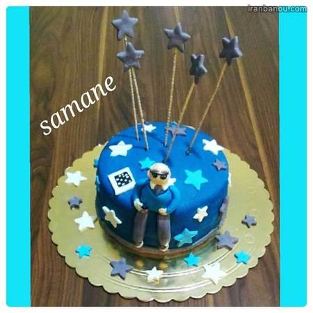 اینستاگرام کیک روز مرد