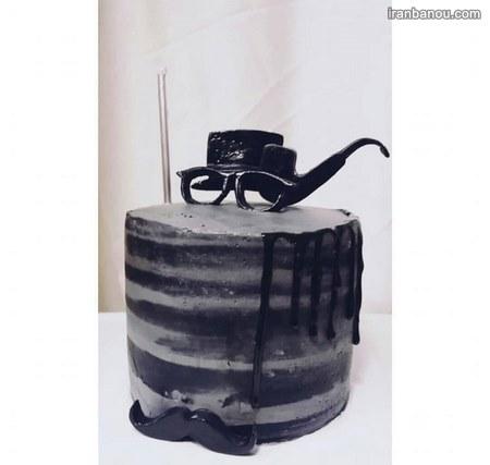 تزیین کیک روز مرد با خامه