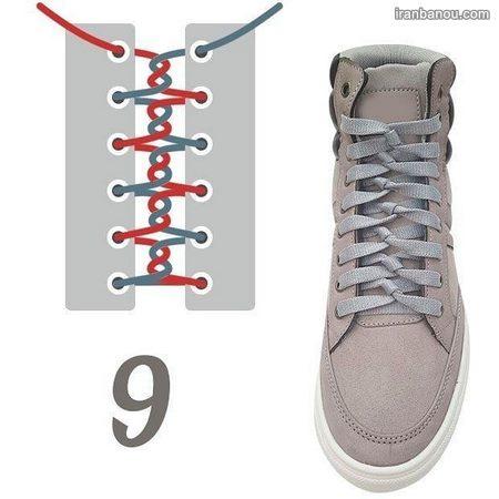 آموزش بستن بند کفش حرفه ای