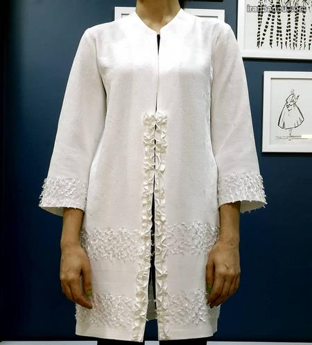 مدل مانتو بلند اندامی جلو باز