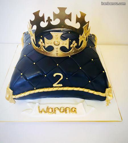 کیک فوتبالی پسرانه