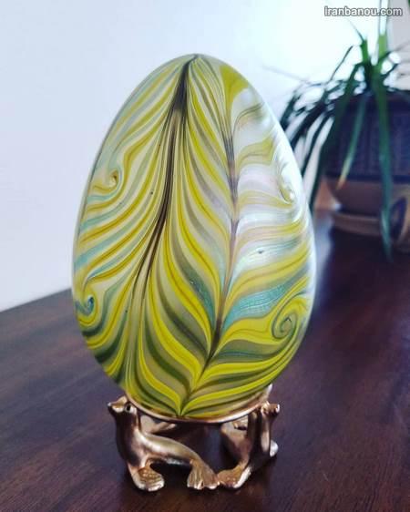 نقاشی روی تخم مرغ هفت سین جدید