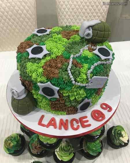 کیک تولد فوتبالی پرسپولیس