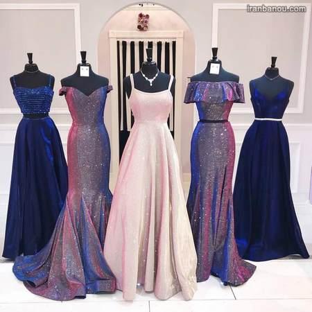 مدل لباس مجلسی کوتاه با گیپور