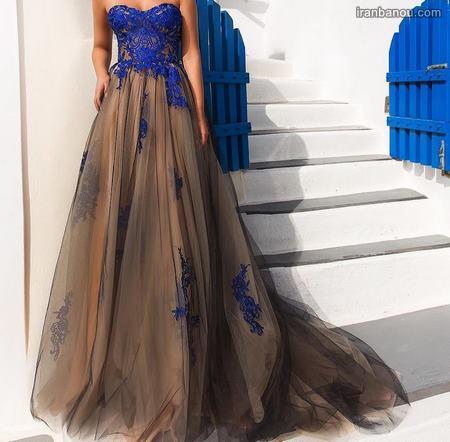 لباس مجلسی دخترانه جوان
