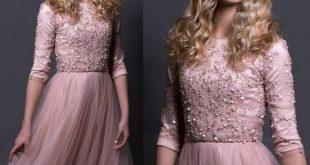 مدل لباس مجلسي دخترانه شيک
