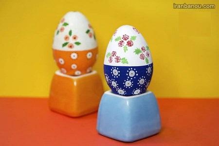 تخم مرغ رنگی زیبا