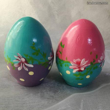 تزیین تخمه مرغ به شکل خوک