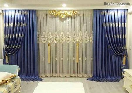 مدل پردهای جدید اتاق خواب
